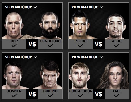 EA Sports UFC 2nd Round Voting
