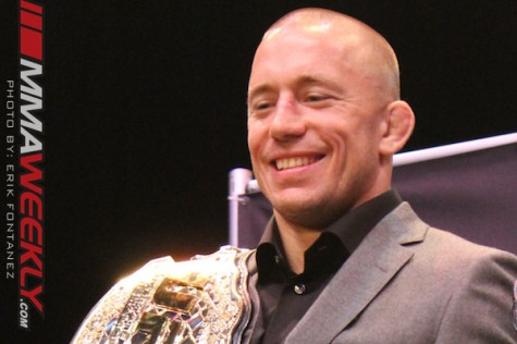 Georges St-Pierre UFC World Tour