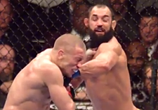 Georges St-Pierre vs Johny Hendricks