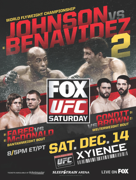 UFC on FOX 9 poster