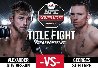 EA Sports UFC Cover Final Gus vs GSP
