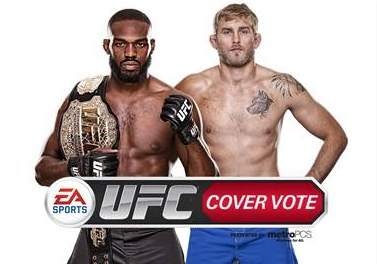 EA UFC Cover Vote-Official Image (Jon Jones and Alexander Gustafsson)