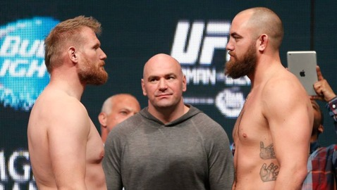 Josh Barnett vs Travis Browne UFC 168