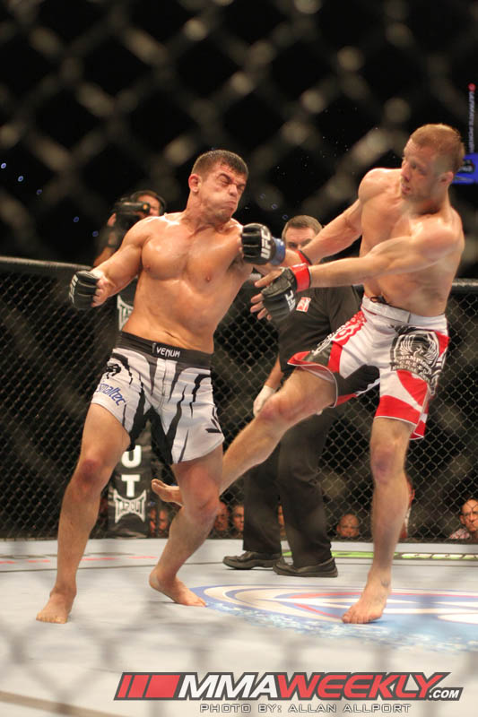 Nick Ring vs Caio Magalhaes