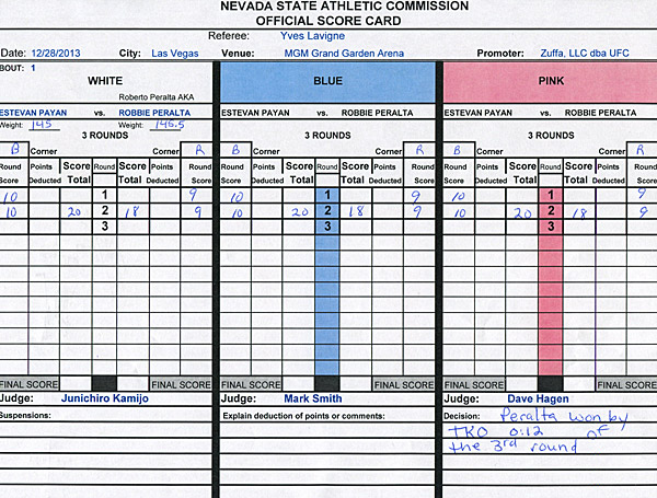 Peralta-vs-Payan-Scorecard-UFC-168