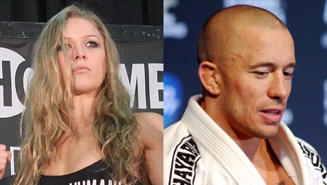 Ronda Rousey and Georges St-Pierre