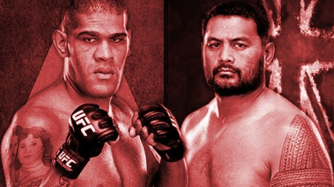 UFC Fight Night 33 Poster RED 478x270