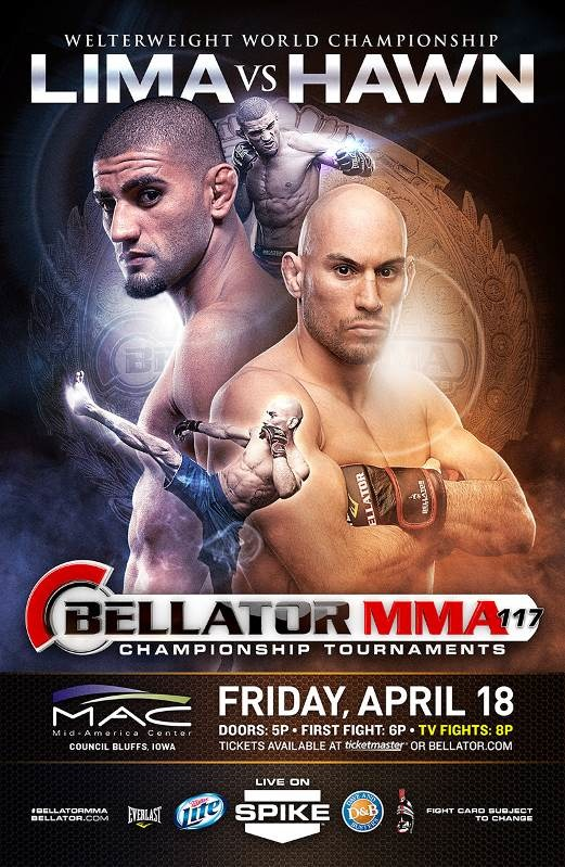Bellator 117 Fight Poster