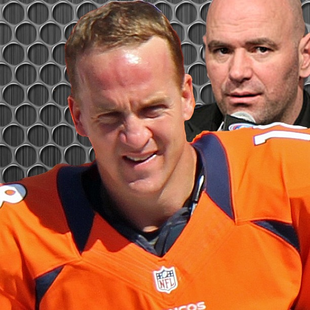 Peyton Manning and Dana White