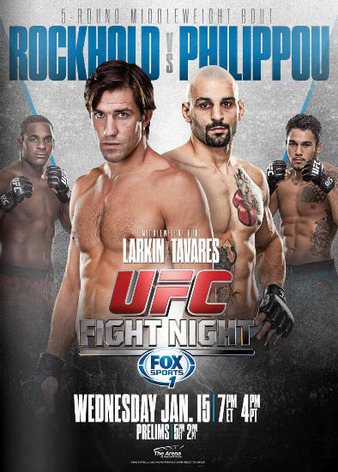 UFC Fight Night 35 poster