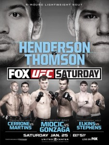 UFC on FOX 10 poster
