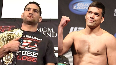 Chris Weidman vs Lyoto Machida
