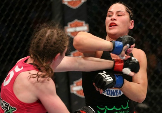 Sarah Kaufman vs Jessica Eye