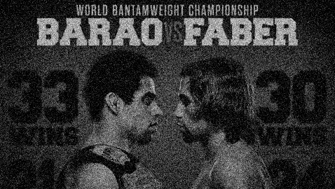UFC 169 Barao vs Faber Poster-Gray Graphic-478x270