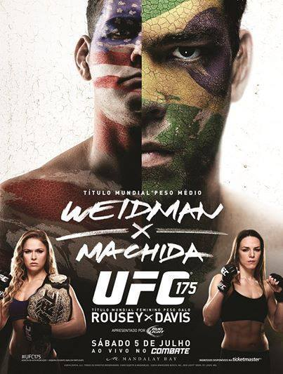 UFC 175 Fight Poster