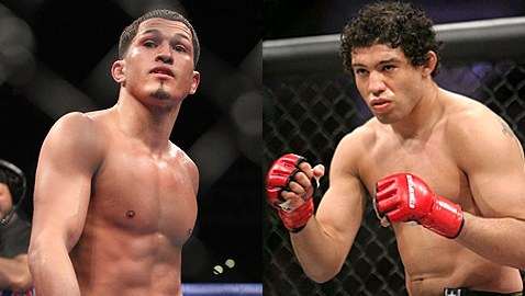 Anthony Pettis vs Gilbert Melendez