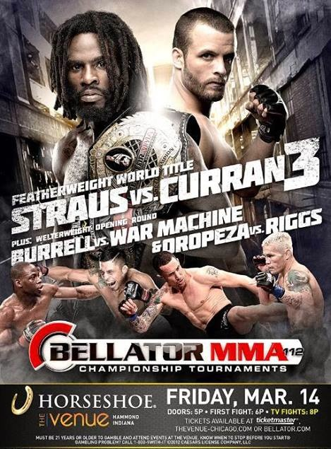 Bellator 112 Fight Poster