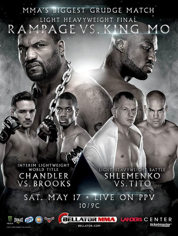 Bellator 120 Fight Poster