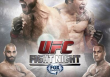UFC Fight Night 40 Brown vs Silva Fight Poster