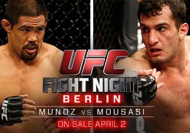 UFC Fight Night Berlin Fight Poster
