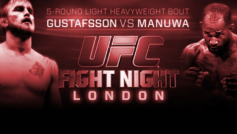 UFC London Fight Poster