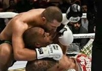 Gokhan Saki and Tyrone Spong broken leg