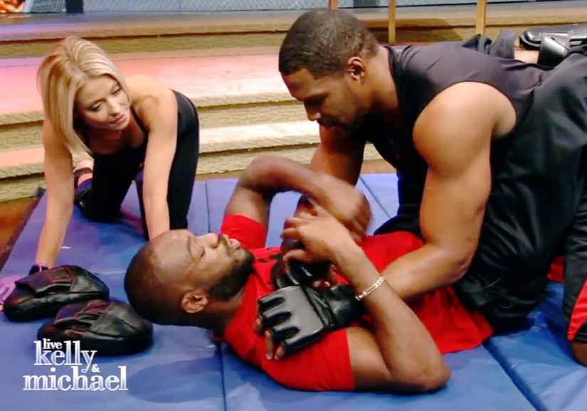 Jon Jones on Live with Kelly and Michael