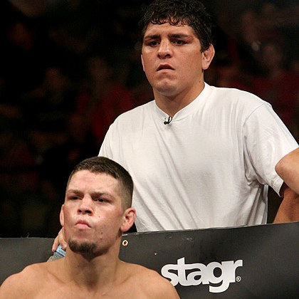 Nate and Nick Diaz (The Diaz Brothers)
