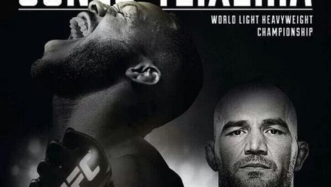 UFC 172 Fight Poster