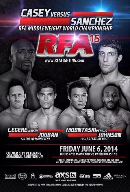 RFA 15 Fight Poster