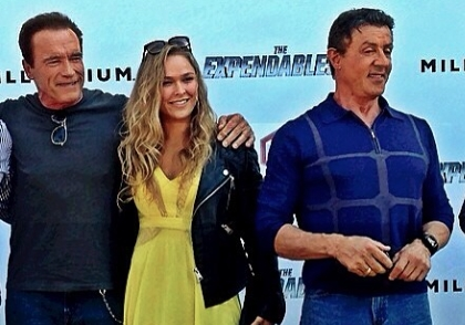 Ronda Rousey, Arnold and Sly