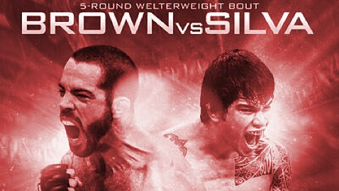 UFC-Fight-Night-40-Brown-vs-Silva-Fight-Poster-red