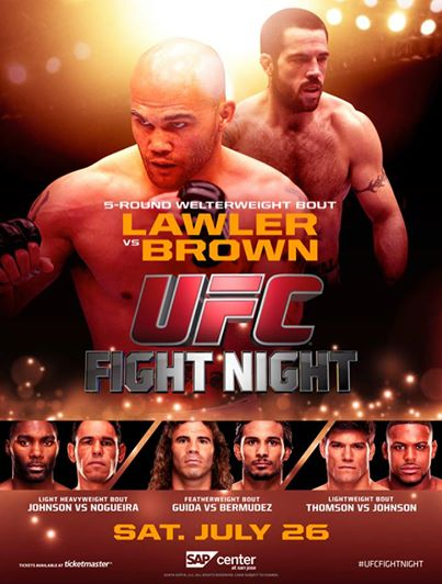 UFC Fight Night 47 poster
