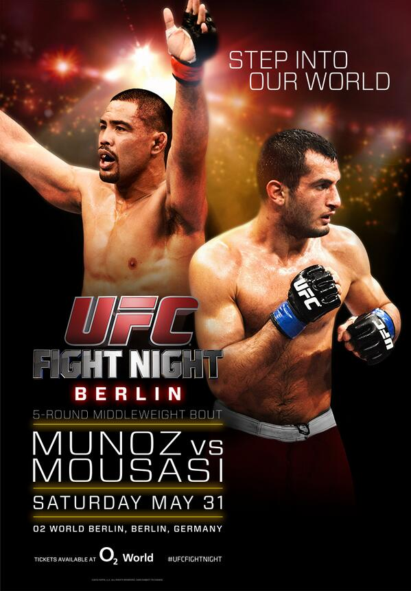 UFC Fight Night 41: Munoz vs. ...