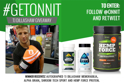 Onnit TJ Dillashaw Twitter Contest