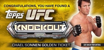 2014 Topps UFC Knockout card set
