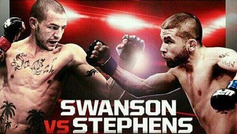 UFN 44 Swanson vs Stephens Fight Poster
