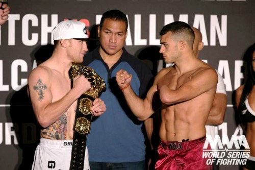 Justin Gaethje vs Nick Newell weigh-ins