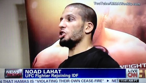 Noad Lahat MMAWeekly on CNN
