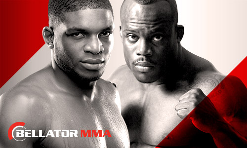Paul Daley and Melvin Manhoef