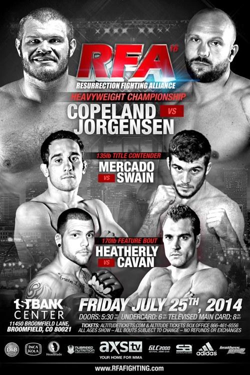RFA 16 Fight Poster 7-21-14