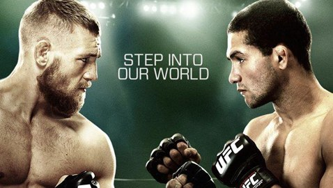 UFC Dublin McGregor vs Brandao Fight Poster-478x270