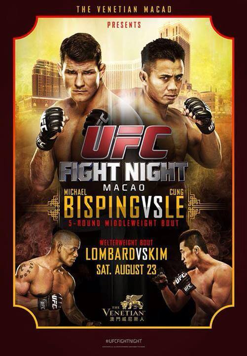 UFC Fight Night 48 poster