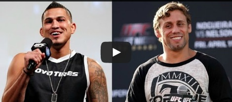 Anthony Pettis and Urijah Faber Video