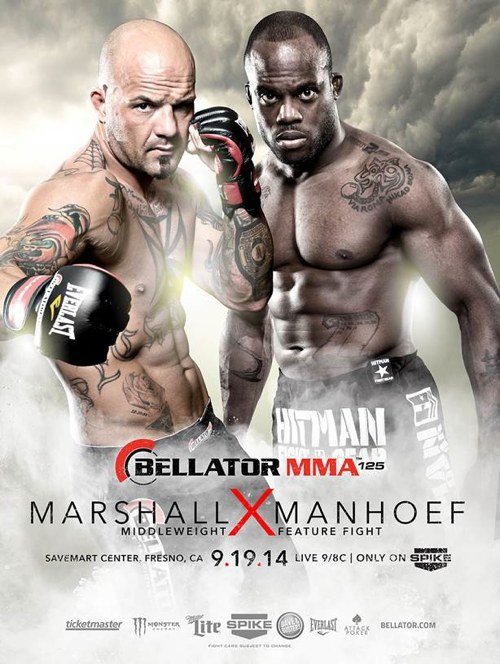 Bellator 125 Fight Poster