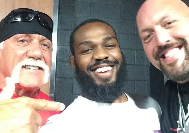 Hulk Hogan, Jon Jones, Big Show
