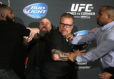 Jon-Jones-Daniel-Cormier-Brawl-UFC-178-Media-Day-110x77
