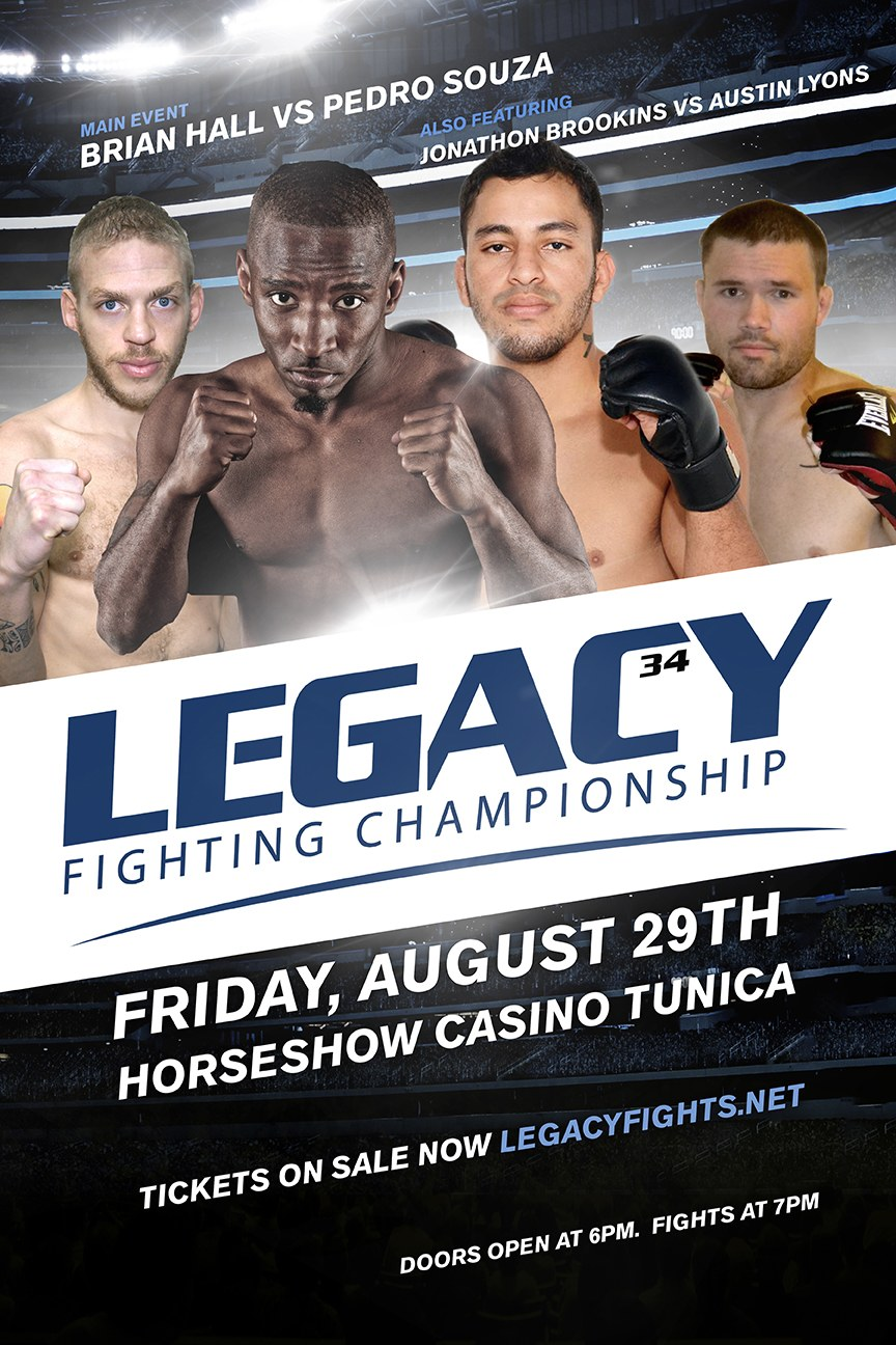 Legacy FC 34 Fight Poster