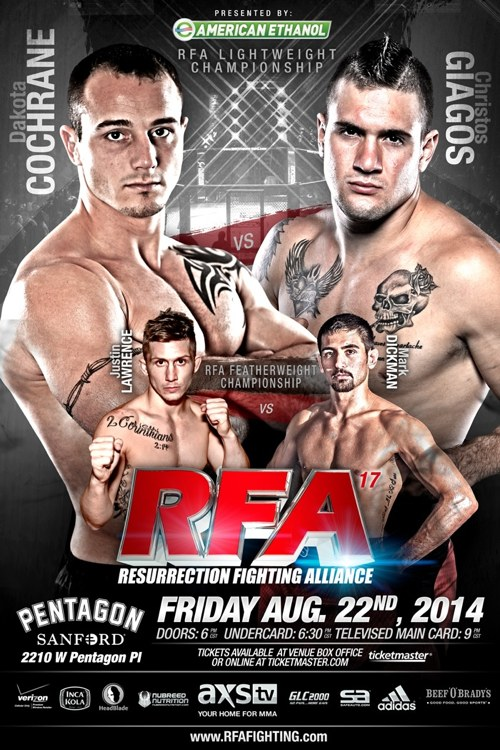 RFA 17 Fight Poster