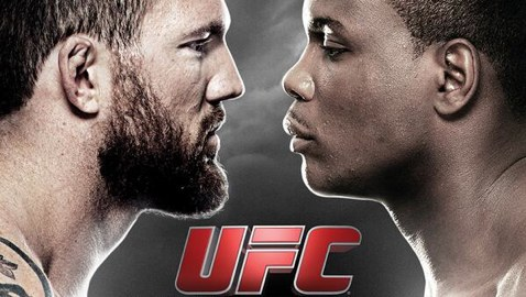 UFC Fight Night 47 Fight Poster